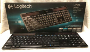 Logitech Solar Keyboard & MX Anywhere Mouse [As Is]