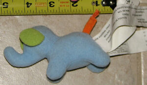 Plush Mini Ikea Blue Elephant - NEW