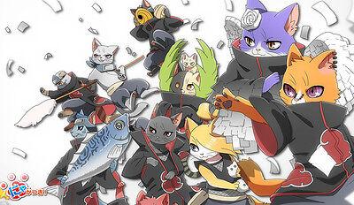 246 - NARUTO PLAYMAT CUSTOM ANIME PLAY MAT WITH FREE PLAYMAT TUBE FREE SHIPPING - Naruto Custome