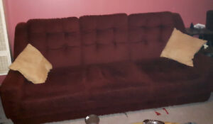 COUCH AND CHAIR FREE TO GOOD HOME