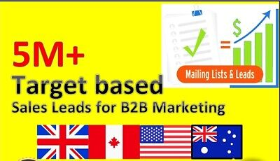 Targeted Email Lists Buy Email Lists By Categories Usa Uk Canada Australia Lists