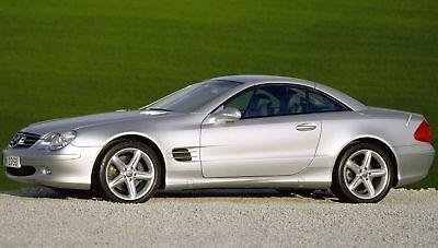 Chiptuning Mercedes SL500 R230 306PS auf 330PS VMAX bei 250 KM/H wird aufgehoben