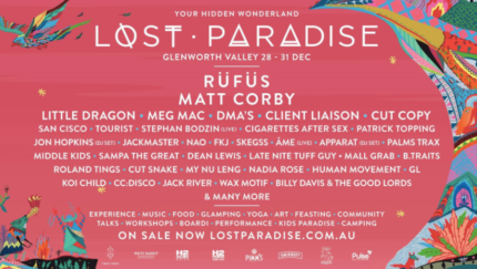 Lost Paradise 4-day GA ticket w/ camping