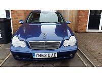 quick sale £1500 mercedes C class 220 CDI
