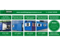 New One Trip 20ft Shipping Containers Steel Containers for sale In stock
