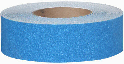 2 Anti Slip Non Skid Safe Way Traction Safety Track Grit Grip Tape Blue 10 Ft
