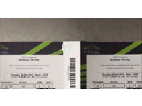 2 russell Peters tickets live in London at wembley