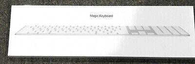 APPLE MAGIC KEYBOARD WIRELESS WITH NUMERIC KEYPAD MQ052LL/A SILVER