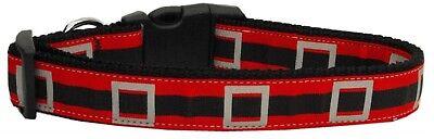 (Santa's Belt Christmas Holiday Premium Ribbon Pet Dog Collar NEW! FAST SHIP!)