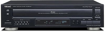 Teac PD-D2610MKII 5-Disc Carousel CD Player Changer Remote CD,CD-R/RW, MP3 Disks