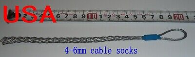 Cable Pulling Socks Wire Grip Wire Pulling Grip Cable Socks 4-6mm