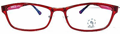 OXYGEN Eyewear 6004 BURGUNDY Unisex Prescription Glasses frames NEW Only 1