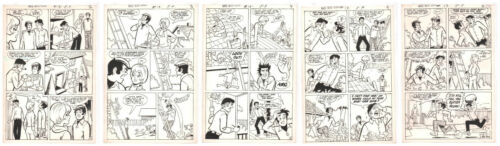 Date with Debbi #13 Five of Six Page Incomplete Story - 1971 art by Doug Crane