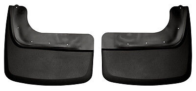 HUSKY LINERS Mud Flap Guards 11-15 Ford F-350 F-450 Super Duty Dually REAR PAIR