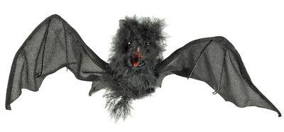 Gruselige Fledermaus 35 cm Halloween Dekoration Hängedekoration Vampir