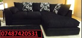 LUXURY ZINA Luxury Corner Sofa Left Or Right Chaise- SALE