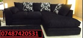 Luxury Corner sofa left or right chaise