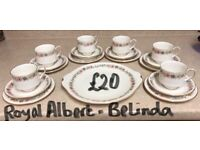 Royal Albert Paragon Belinda Tea Set