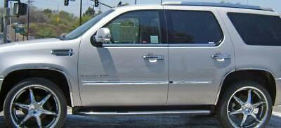 FENDER TRIM FOR CADILLAC ESCALADE 07-14 Mirror Polished Stainless Steel SET/6