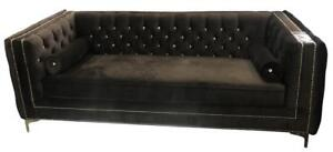 Tufted Couches -good-quality Crystal Button Tufted Sofa for Sale (HC1100)