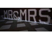 4ft MR&MRS letter HIRE