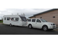 Swift Conqueror 565 + Nissan Pathfinder Complete outfit for sale