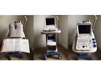 Ultrasound scanner with MSK head attachement