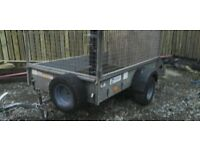 ifor williams p7e cage side trailer new LED lights