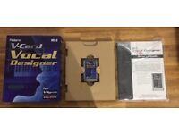Roland VC-2 Vocal Designer VCard for Varios / V-Synth