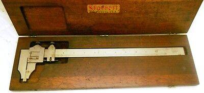 Starrett Caliper With Case No 122