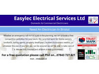 Easylec Electrical Services: House Rewiring, Alterations & Repairs.