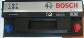 USED S3 013 BOSCH CAR BATTERY, NEEDS TO BE COLLECTED ASAP, BARGAIN