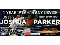 KING IIPPTTVV TOP QUALITY TV #no1 PROVIDER £45 A YEAR