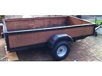 Trailer 8 x 4 - Has had new wheels & hubs fitted