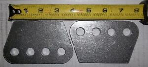 "H/D 4 HOLE MOUNTING PLATE 1/4"" THICK ,SHOCKS, TRAC ARMS, 4 LINK, Belleville Belleville Area image 7"