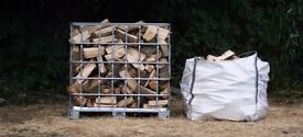 Mixed hard & softwood logs