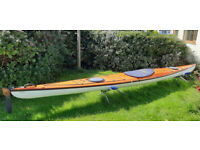 Fast Sea Kayak STELLAR S18R GEN 1 advantage layup 19kg fibre glass