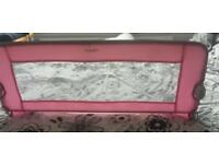 Tomy Pink Bed rail guard