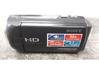 Sony HDR-CX220 Camcorder 8.9MP with 32GB Memory card