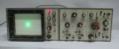 Vintage Dumont R1064 2 Channel Oscilloscope Tested Working