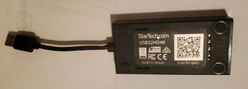 Used StarTech USB32HD4K USB 3.0 to 4k HDMI adapter