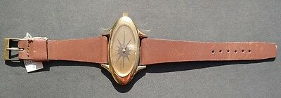 Vtg Swiss SAKS FIFTH AVE 1970s SPACE WATCH (Hermes) - NOS w/tags Excellent 50mm