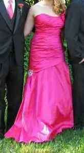 prom dress for sale - corset back goes from size 13 to 16 Kitchener / Waterloo Kitchener Area image 5
