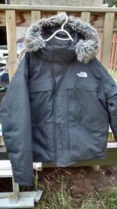 The NorthFace Winter Down Fill Jacket,Size XXL