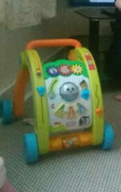 Walker push along toy