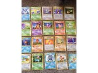 Set of Pokemon cards