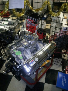 500 HP Chevy 350/383 Stroker (Carb to Pan)(TBS Engines 1979)