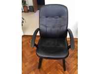 Black office chairs, second hand, we have 7 of them.