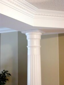 2 Beautiful Wood Columns - reduced price / swap or trade welcome