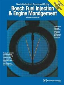 Bosch Fuel Injection and Engine Management By Charles O. Probst Book Blacktown Blacktown Area Preview